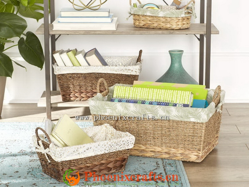 water hyacinth baskets for home storage gifts